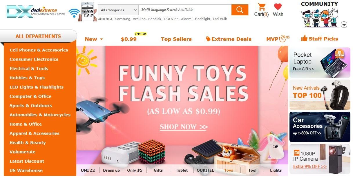 Интернет-магазин DX.com