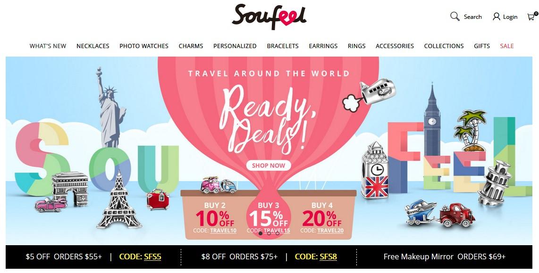 Интернет-магазин Soufeel.com