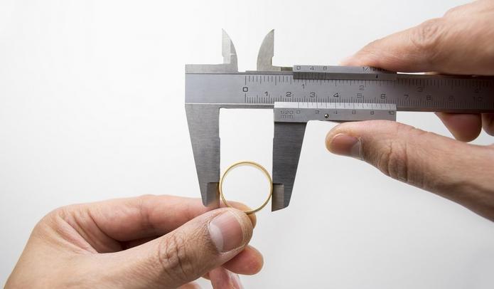 кольцо размер штангенциркуль